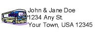 Address Label w/Clip