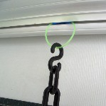 Awning Hanger in Roller Tube