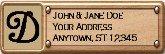 Return Address Label